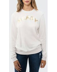 Sol Angeles Merry Holiday Pullover Sweatshirt - White