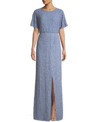 Alice + Olivia - Arora Sequin Embellished Gown - Lyst