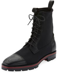 louboutin men boots