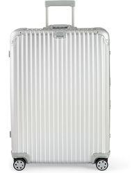 "Rimowa Topas Silver 32"" Multiwheel Luggage - Gray"