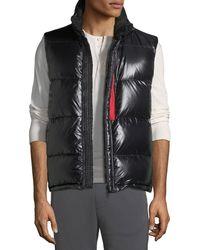 30ae034ae Lyst - Moncler Ghany Puffer Vest in Black for Men
