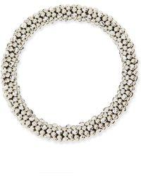 Meredith Frederick - Irina Silver Mirrored Bead Bracelet - Lyst