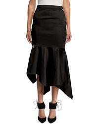 Monse - High-waist Fitted Trumpet Skirt - Lyst