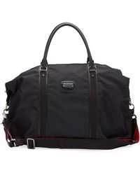 057047bb051 Men's Paris Loubicity Nylon & Calf Leather Weekender Bag - Black