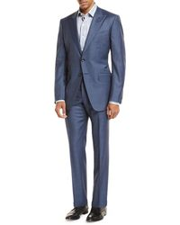 Tom Ford - Sharkskin Wool Two-piece Suit - Lyst