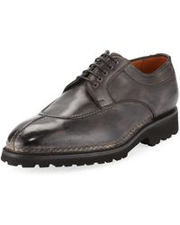 Bontoni - Magnifico Leather Lace-up Loafer - Lyst