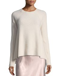 Vince - Directional-rib Cashmere Pullover Sweater - Lyst