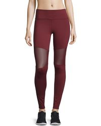 Varley | Sycamore Mesh-panel Compression Running Tights | Lyst