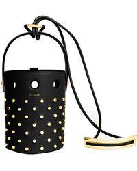 d19b107c98 PERRIN Paris - Le Mini Seau Studded Bucket Bag - Lyst