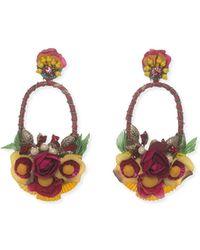 Ranjana Khan - Luscina-l Drop Earrings - Lyst