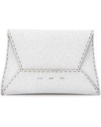 VBH - Manila 25 Glitter Clutch Bag - Lyst
