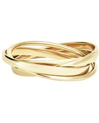 Lana Jewelry - Small Staking Ring Set In 14k Gold - Lyst