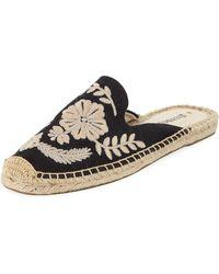 Soludos Tuilleries Smoking Slipper (black) Shoes