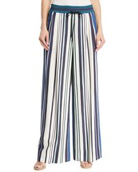 Lafayette 148 New York - Reade Mesa Striped Trousers - Lyst