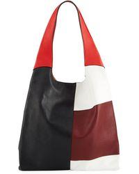 Hayward - Grand Colorblock Leather Shopper Shoulder Bag - Lyst
