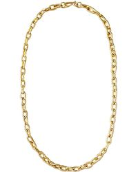 "Ashley Pittman - 36"" Brnz Link Chain Necklace - Lyst"