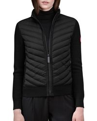 Canada Goose - Hybridge Knit Jacket - Lyst