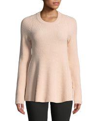 Jason Wu - Merino Wool Trapeze Sweater - Lyst