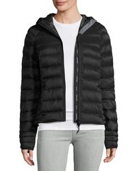 Canada Goose - Brookvale Quilted Hoodie Puffer Jacket - Lyst