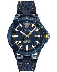 bcdca990ff Sport Tech Diver Automatic Textile Strap Watch - Blue