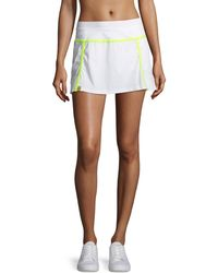 Monreal London - Player Pleated Performance Mini Skirt With Built-in Shorts - Lyst