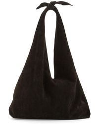 fb47de551685 Lyst - The Row Women s Bindle Double Knot Leather Hobo Bag ...