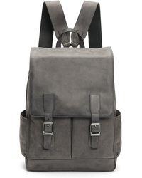 Frye - Men's Oliver Leather Buckle Backpack - Lyst
