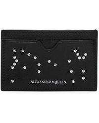 Alexander McQueen - Studded Card Holder - Lyst