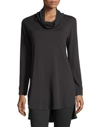Natori - Brushed Knit Tunic - Lyst