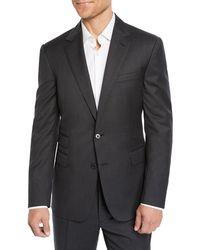 Ralph Lauren Men's Two-piece Basic Wool Suit - Gray