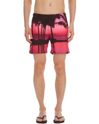 Orlebar Brown - Men's Bulldog Photographic-print Tailored Swim Trunks - Lyst