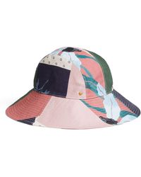 Tory Burch - Floral Patchwork Bucket Hat - Lyst