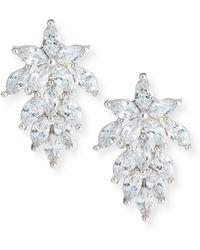 Fallon - Monarch Mini Cluster Crystal Earrings - Lyst