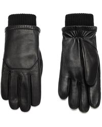 Canada Goose Workman Leather Tech Gloves - Black