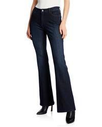 Lafayette 148 New York - Mercer Flared Prestige Denim Jeans - Lyst