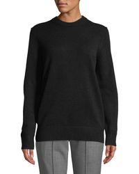 Michael Kors - Crewneck Long-sleeve Oversized Cashmere Sweater - Lyst