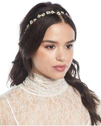 Jennifer Behr - Cassiopeia Usa-made Flower-chain Headband - Lyst