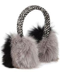 Eugenia Kim - Janine Fur Earmuffs - Lyst