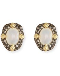 Armenta - Old World Stone Stud Earrings - Lyst