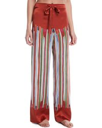 Meng | Striped Silk Pajama Trousers | Lyst