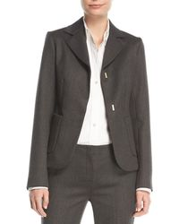 The Row | Meylan Hook-front Jacket | Lyst