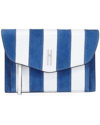 Hayward | Bobby Striped Clutch Bag | Lyst