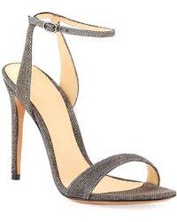 3975721839155e Alexandre Birman - Willow Metallic Stretch Sandals - Lyst