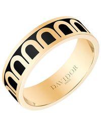 Davidor L'arc De 18k Gold Ring - Med. Model - Metallic