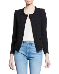 IRO - Wondrous Structured Tweed Jacket - Lyst