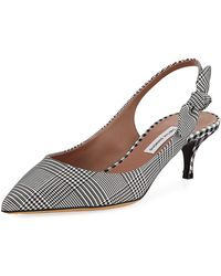 Tabitha Simmons - Rise Houndstooth Slingback Pump - Lyst
