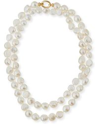 Grazia And Marica Vozza - Baroque Pearl Necklace - Lyst