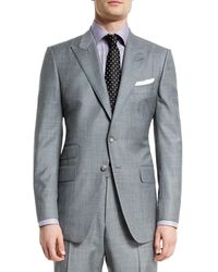 Tom Ford - O'connor Base Sharkskin Two-piece Suit - Lyst