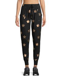 Terez - Star-print French Terry Jogger Pants - Lyst