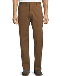 Ferragamo - Men's Straight-leg Stretch-cotton Workman Trousers - Lyst